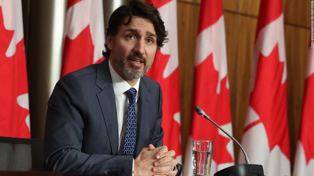 Trudeau varuje, že Kanada čelí nebezpečné třetí vlně případů Covid-19, když úředníci zpřísňují opatření blokování