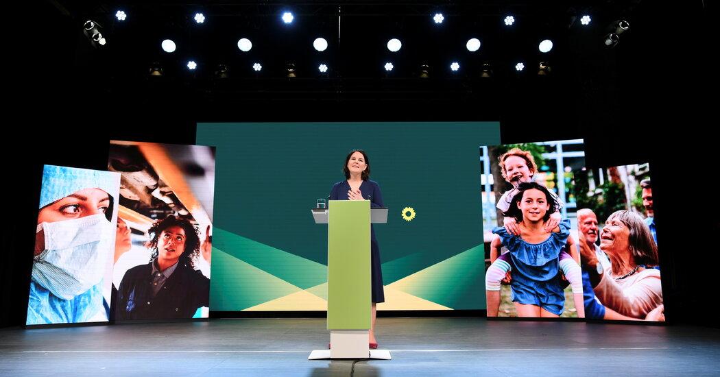 Zelení v Německu si vybrali Burbocka jako kandidáta na dalšího kancléře