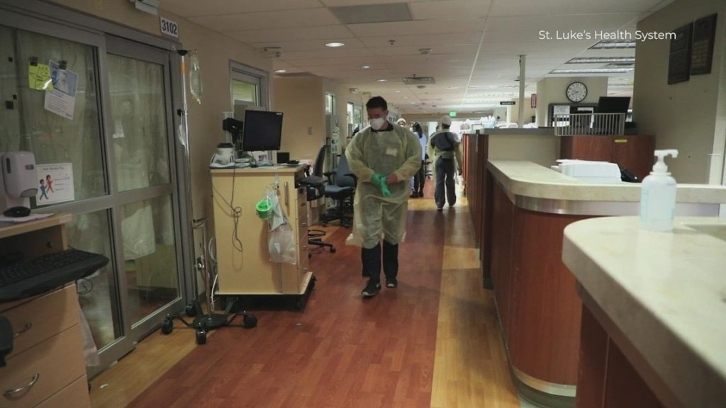 Idaho hospitals turning into