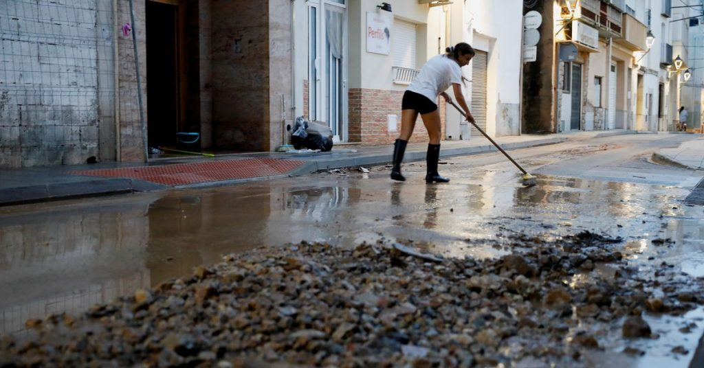 Španělsko zasáhne bouře, zaplaví města, omezí dodávky elektřiny a železniční dopravu