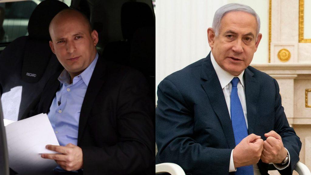 """Bennett říká členům strany, že směřuje k """"změně vlády"""", která svrhne Netanjahua"""