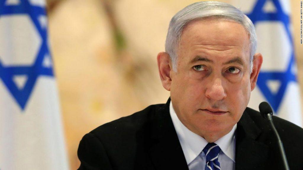Netanjahu se minulý víkend jako izraelský předseda vlády snažil potenciálně zůstat u moci
