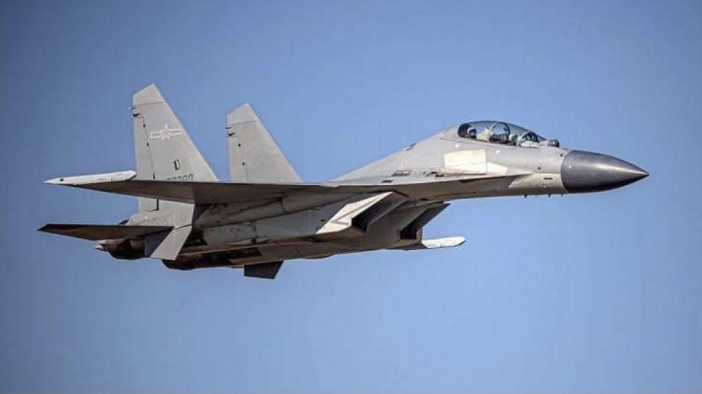 Čína vysílá 28 vojenských letadel do vzdušného prostoru kontrolovaného Tchaj-wanem: NPR