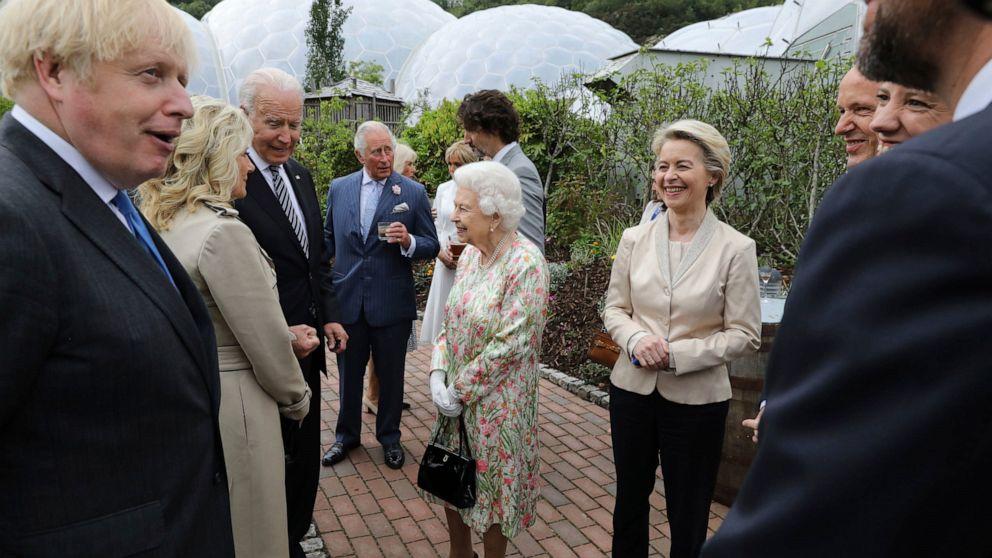 Biden naléhá na vůdce G7, aby prosazovali a konkurovali Číně