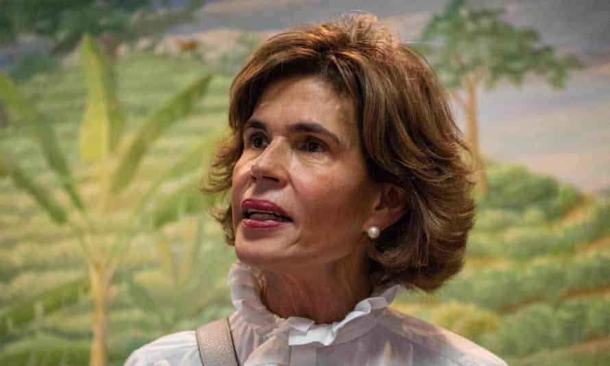 Christiana Chamorro, bývalá ředitelka Violeta Barrios de Chamorro.