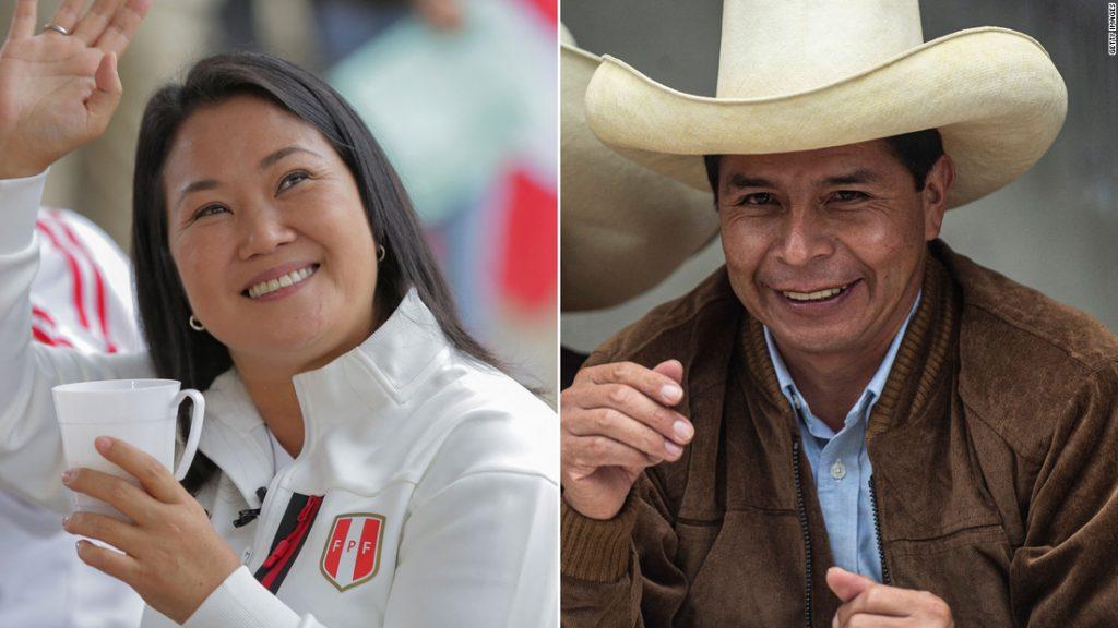 Volby v roce 2021 v Peru: Výsledky jsou příliš blízké spekulacím, ale Keiko Fujimori vede předběžně