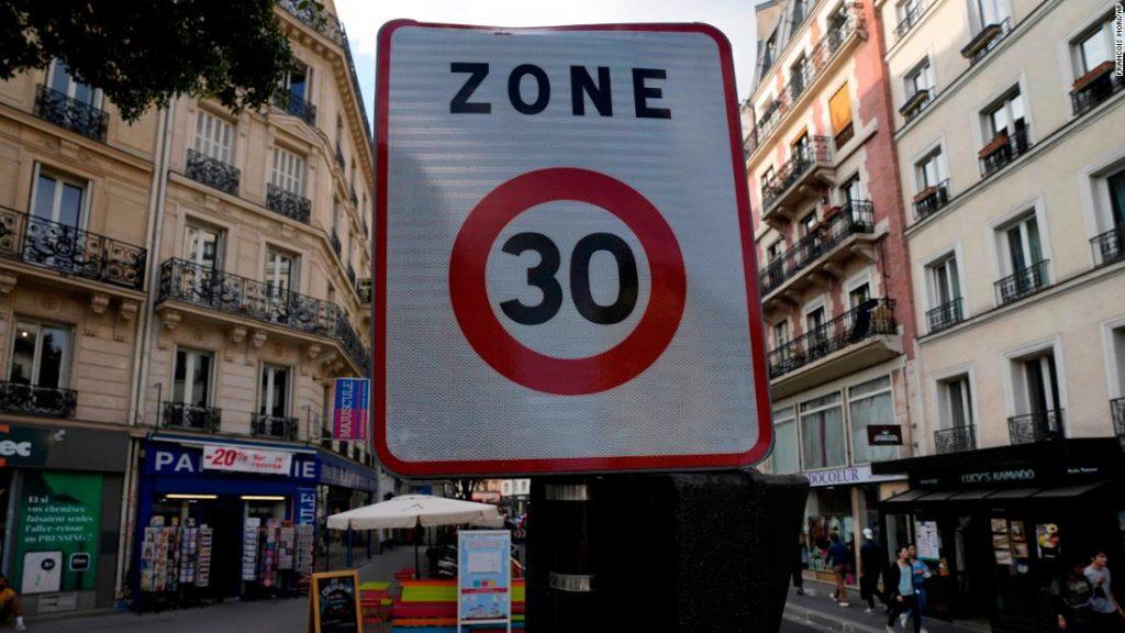 Pařížský rychlostní limit: město brzdí pravidlem 30 km / h