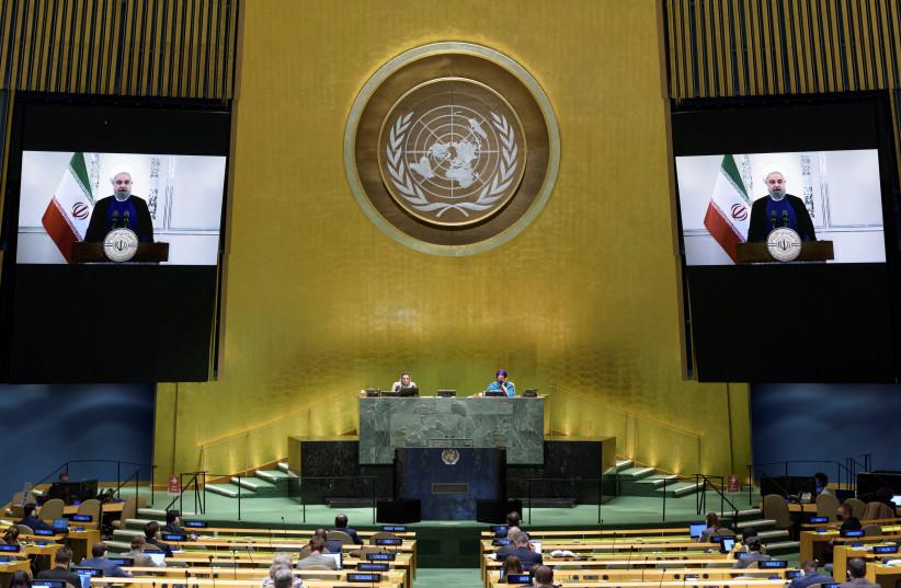 Světové mocnosti, Írán se na Valném shromáždění OSN nesejdou